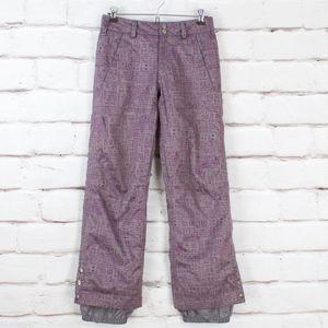 Burton DryRide Purple Snow Pants Snowboard Ski XS